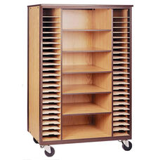 Mobile Music Storage Cabinet