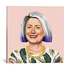 Hillary Clinton by Amit Shimoni Gallery Wrapped Canvas Artwork - 26