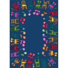Musical Chairs Rug