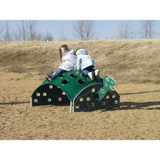 Weather Resistant Powder Coat Paint Finished Aluminum Turtle Climber with Multiple Foot and Hand Holds - 60