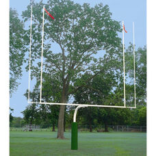 Convertible High School/College Goalpost - White