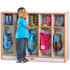 Rainbow Accents Toddler Coat Lockers