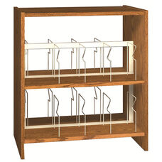 2-Shelf Double Sided Picture Book Bookcase Starter