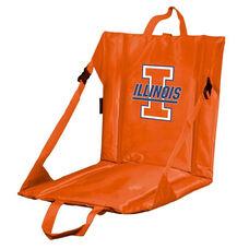 University of Illinois Team Logo Bi-Fold Stadium Seat