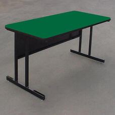 Desk Height Rectangular High Pressure Top Work Station - 30