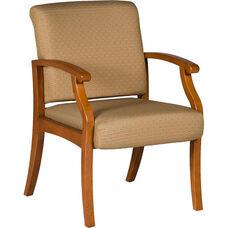 Florin 300 lb. Capacity Guest Chair - Vinyl Upholstery