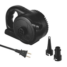 AP-138A AC Powered High Pressure Quick Inflatable Air Pump with 2 Valve Adapters and 1.5 PSI