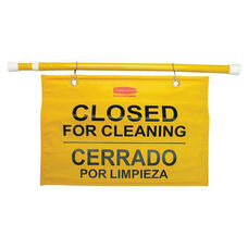 Rubbermaid Commercial Products Commercial Site Safety Hanging Sign - 1