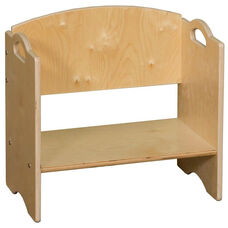 Contender Stackable Wooden Bookshelf - Unassembled - 20