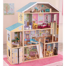 Majestic Mansion Tall and Wide Dollhouse for 12