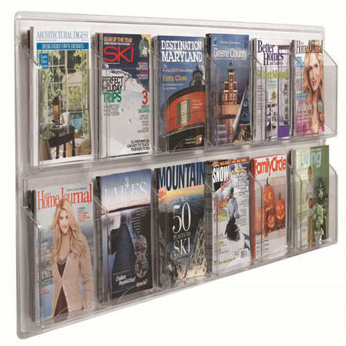 Our Clear-Vu Horizontal Magazine and Literature Display - 12 Magazines is on sale now.