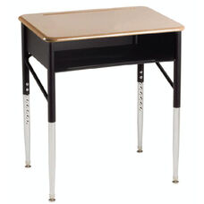 Aptitude Series Adjustable Open Front Student Desk