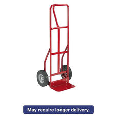 Safco® Two-Wheel Steel Hand Truck - 500lb Capacity - 18w x 47h - Red