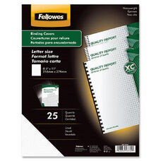 Fellowes Futura Premium Lined Presentation Covers - Pack Of 25