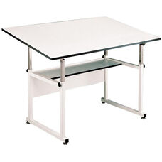 White WorkMaster Drawing Table - 37.5