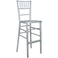 Advantage Silver Chiavari Bar Stools