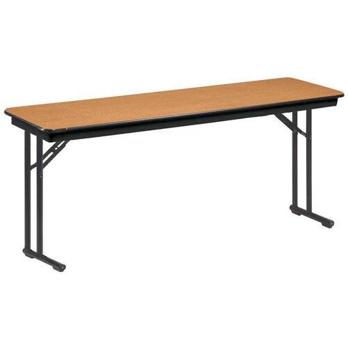 EF Series Comfort Leg Seminar Plywood Core Folding Table - 18