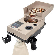 C500 Portable Heavy-Duty Coin Counter and Off Sorter - 2,000 Coins/Minute