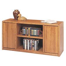Contemporary Collection 60.5''W x 29''H Storage Credenza - Medium Oak