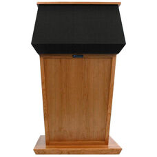 Patriot Solid Hardwood Non-Sound Lectern - Cherry Finish - 31