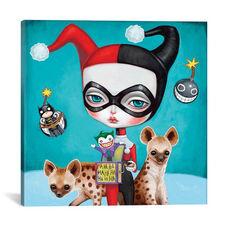 Harley Quinn by Melanie Schultz Gallery Wrapped Canvas Artwork - 26