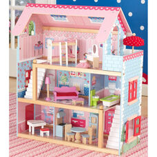 Chelsea Colorful Dollhouse for 4