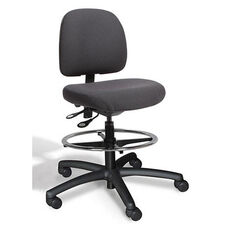 Fusion Medium Back Mid-Height Drafting Cleanroom Chair - 7 Way Control