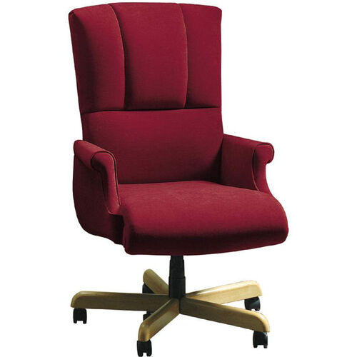 Our Quick Ship Trifecta Executive Swivel Chair with Fully Upholstered Arms is on sale now.