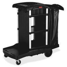 Rubbermaid Commercial Products High Capacity Executive Cleaning Cart - 22.5