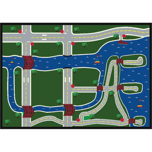 Our Creataville Rug is on sale now.