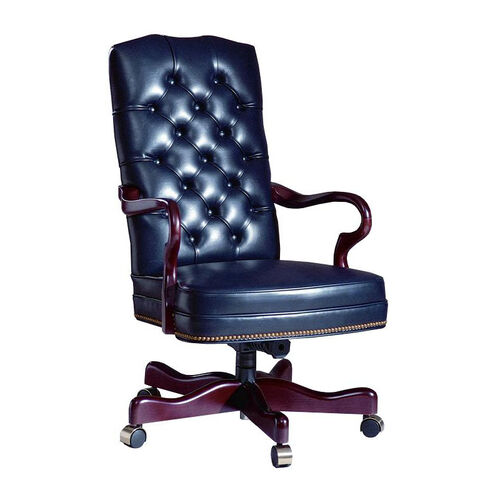 Our Hamilton Series Gooseneck Executive Swivel chair with Tufted Back and Plain Seat is on sale now.