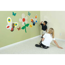 Springtime See-Me Scene Wall Hung Mirror Set