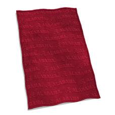University of Alabama Team Logo Velvet Plush Blanket