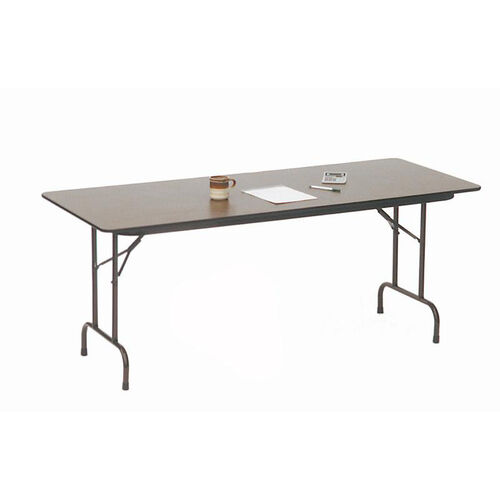 Our Fixed Height Rectangular Melamine Top Folding Table - 24