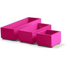 Bright Desk Organizing System Storage Box Set - Orange