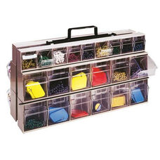 Complete Tip Out Bin Frame with Bins - Gray
