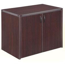 Fairplex Two Door Cabinet - Mocha