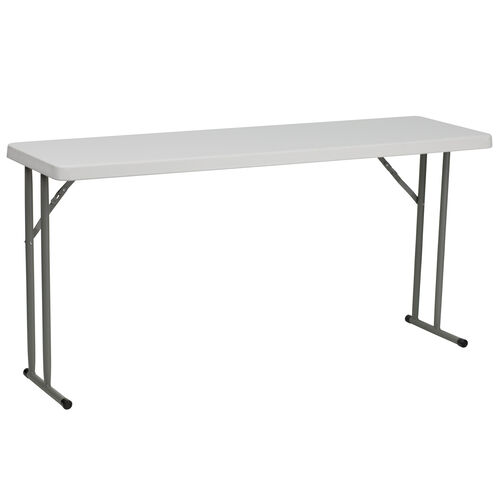 Our 5-Foot Granite White Plastic Folding Training Table is on sale now.