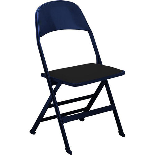 Astonishing 2000 Series Vinyl Upholstered Seat And Steel Back Panel Folding Chair With 14 25 Seat Depth Bralicious Painted Fabric Chair Ideas Braliciousco