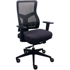 Tempur-Pedic® Spring Task Chair with Mesh Back - Dark Java