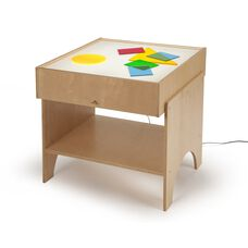 Light Table with LED Lighting System in Birch Plywood - 25.50