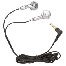 Ear Bud Headphones with Four Foot Long Cord