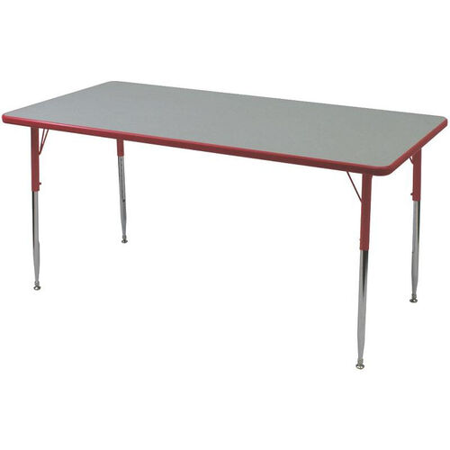 Rectangle Shaped Particleboard Juvenile Activity Table - 30