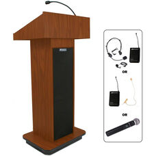 Wireless Executive 150 Watt Sound Column Lectern - 21