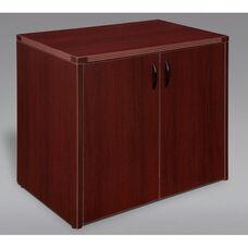 Fairplex Two Door Cabinet - Mahogany