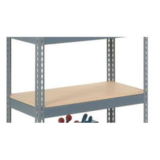 Additional Wood Deck For Rivet Lock Shelving - 48
