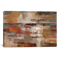 Painted Desert by Silvia Vassileva Gallery Wrapped Canvas Artwork