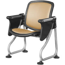 Ready Link Row Starter Chair with Tablet - Peach