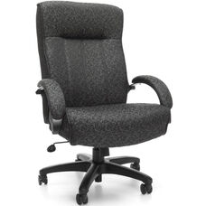 Big & Tall Executive High-Back Chair - Gray Carbon