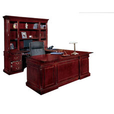 Keswick Left Executive U Desk - English Cherry